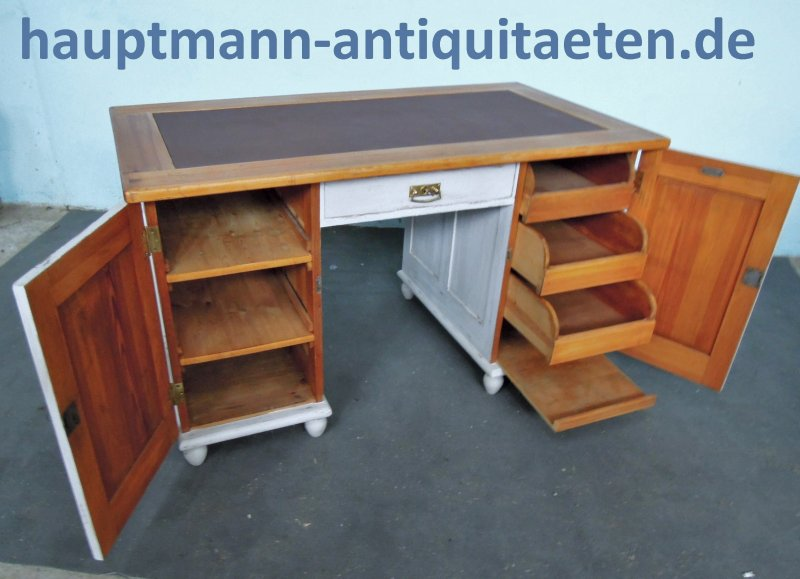 sehr sch ne schreibtisch vintage kaufen sie schreibtisch. Black Bedroom Furniture Sets. Home Design Ideas