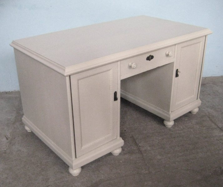 schreibtisch shabby chic schreibtisch shabby chic computertisch weiss schreibm bel vintage ebay. Black Bedroom Furniture Sets. Home Design Ideas